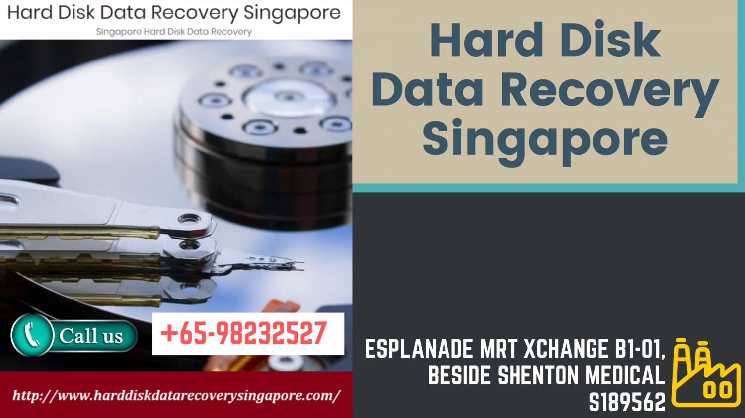 Data Recovery Service at Hard Disk Data Recovery Singapore Infographic