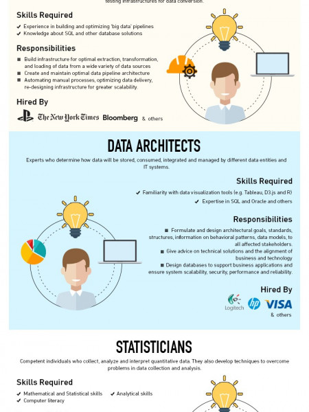 Data Science Roles Infographic