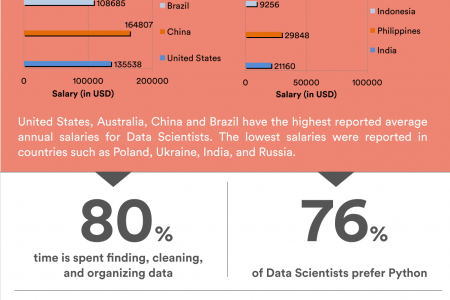 Data Scientist Salary Infographic