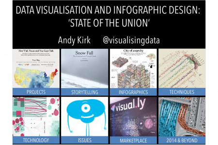 Data Viz & Infographic Design State of the Union Infographic