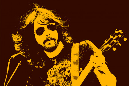 Dave Grohl - Foo Fighters Infographic