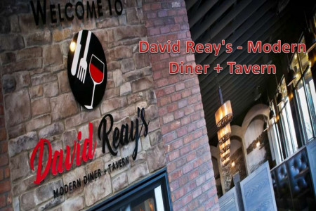 David Reay's - Modern Diner + Tavern Infographic