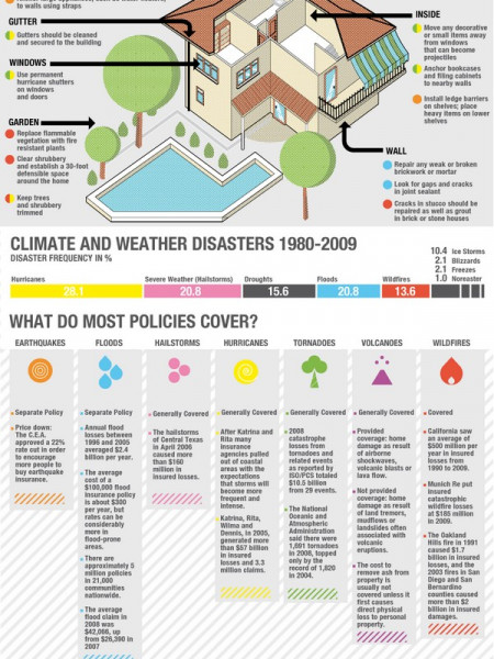 Deadliest Natural Disasters Infographic