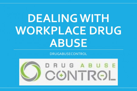 Dealing with Workplace Drug Abuse Infographic