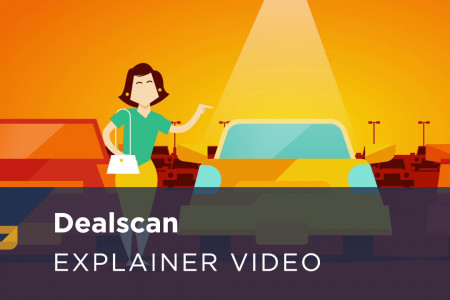 DealScan App Explainer Video Infographic