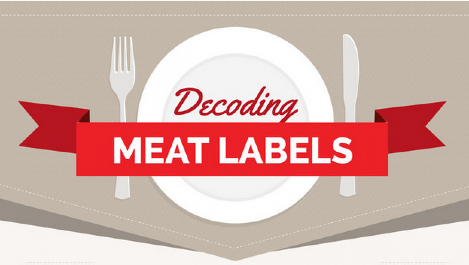 Decoding Meat Labels Infographic