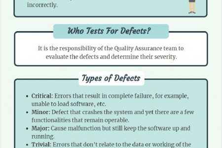 Defect Severity Infographic
