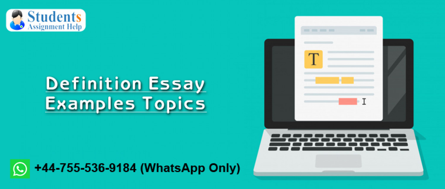 Definition Essay Topics Infographic