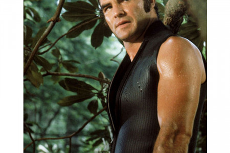 DELIVERANCE BURT REYNOLDS LEWIS MEDLOCK BLACK LEATHER VEST Infographic