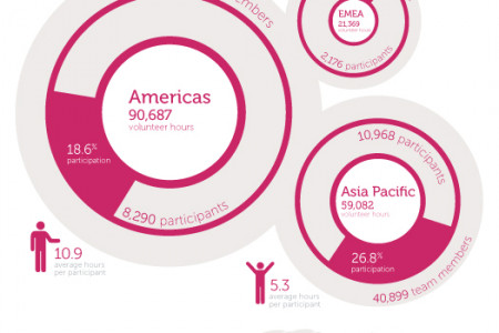 Dell global giving (FY2011) Infographic