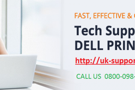 Dell Printer Customer Support | 0800-098-8590 | Dell Printer Support Infographic