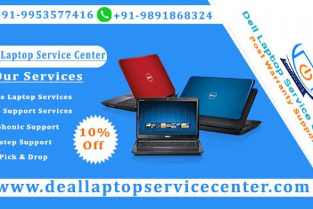 Dell Service Center in Raj Nagar Infographic