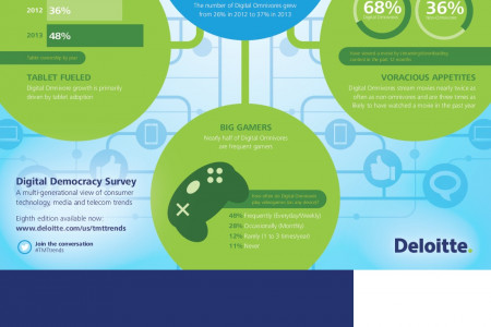 Deloitte's Digital Democracy Survey Infographic