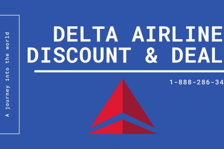 Delta Airlines Discount Infographic