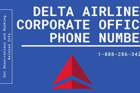 Delta Corporate Office Infographic