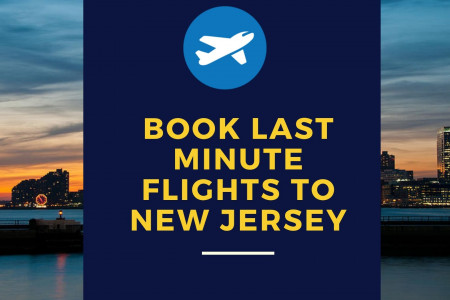 Delta last minute flights to New Jersey Infographic