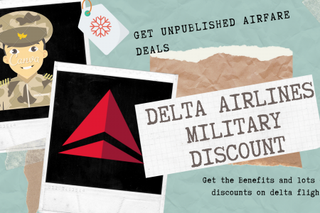 Delta Military Discount Infographic