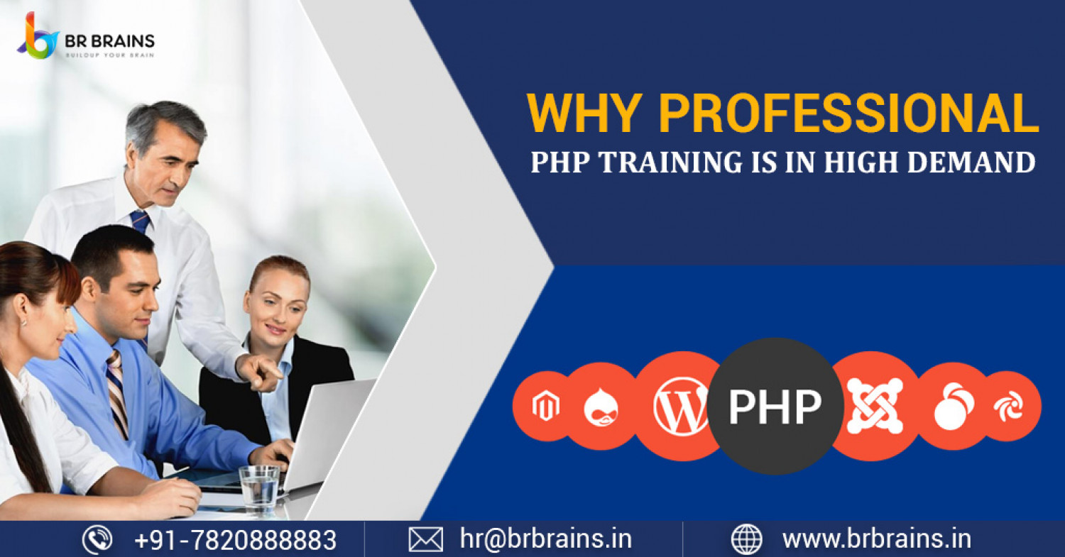 Demand Of PHP Training On Rise Infographic
