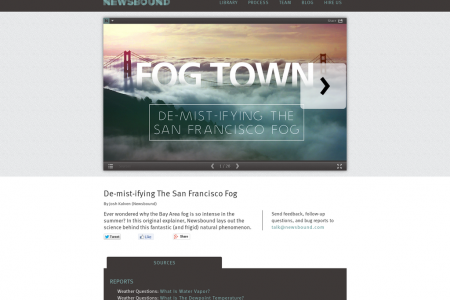 De-Mist-Ifying The San Francisco Fog Infographic