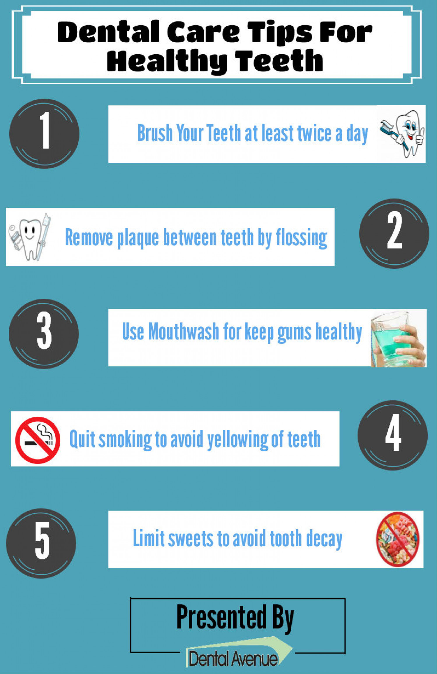 Dental Care Tips for Healthy Teeth | Visual.ly