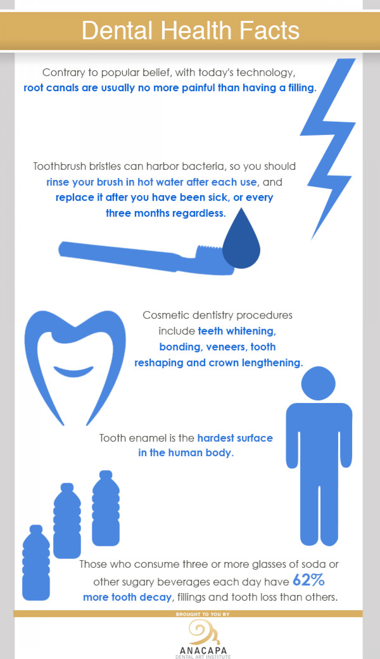 Dental Health Facts Infographic