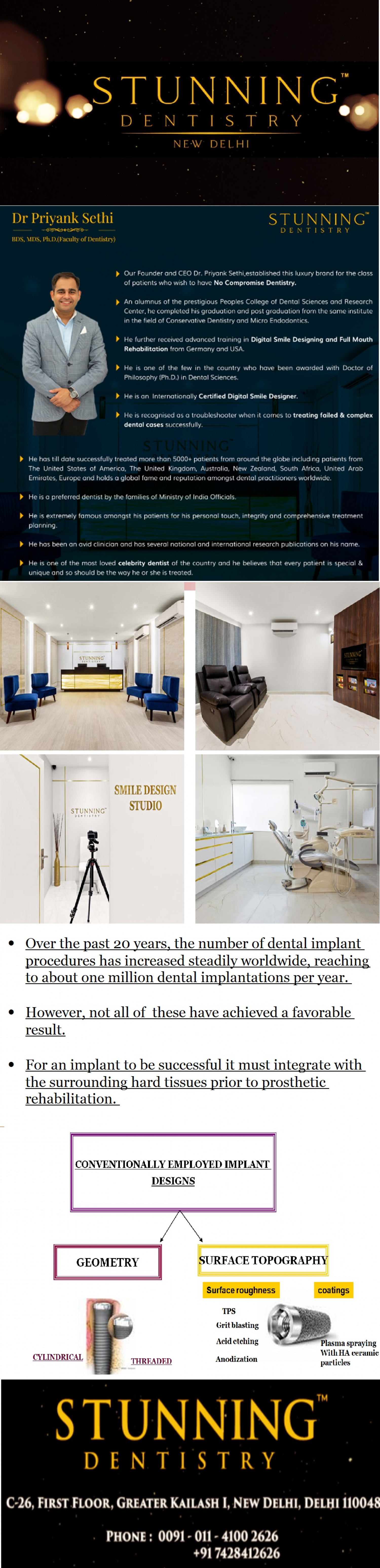 Dental Implants in India Infographic
