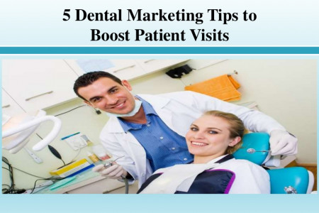 Dental Marketing Tips to Boost Patient Visits Infographic