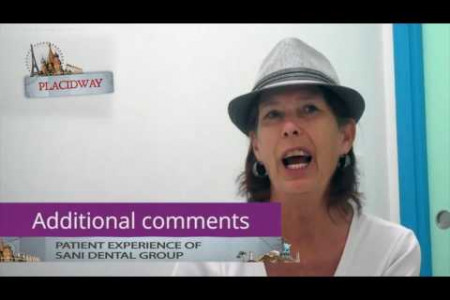 Dental Testimonial -Debbie Newman patient of SaniDentalGroup tell us her experience Infographic