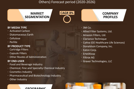 Depth Filtration Market Share, Trends, Size, Research and Forecast 2020-2026 Infographic