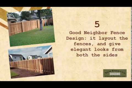Design Ideas for Custom Cedar Fence Infographic
