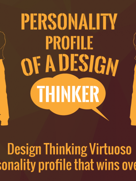 Design Thinking Virtuoso-The personality profile that wins over clientele Infographic