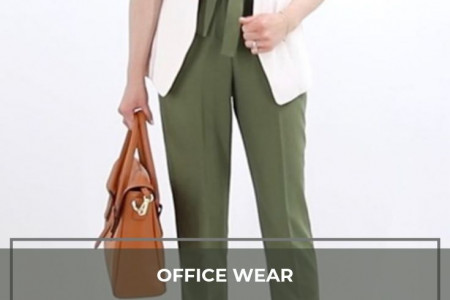 Designer Blazer and Pant for Formal Office Wear Infographic
