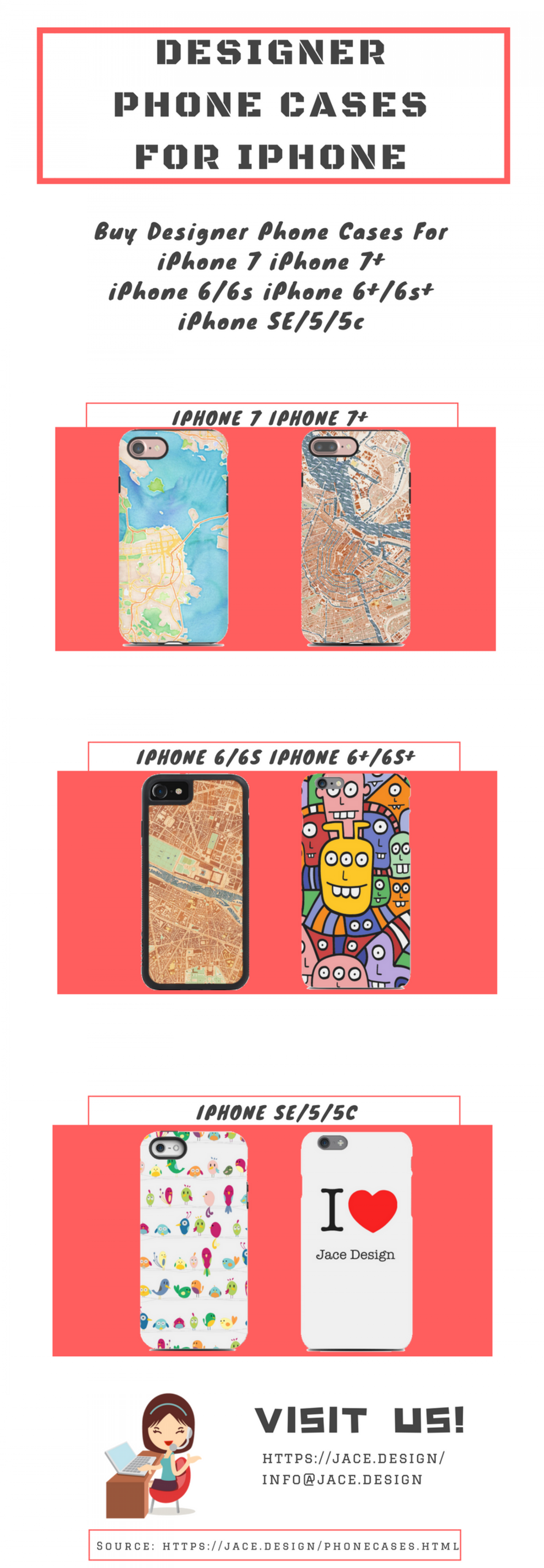 Designer Phone Cases For Iphone Infographic