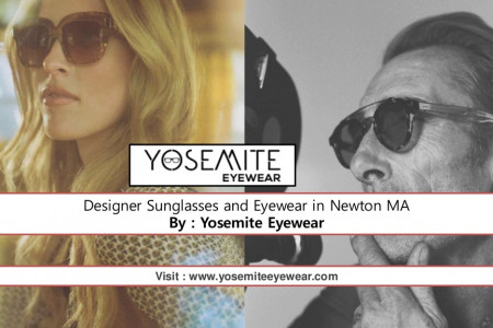Designer Sunglasses and Eyewear in Newton MA Infographic