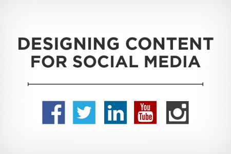 Designing Content for Social Media Infographic