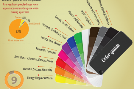 Designing logos in Photoshop and Illustrator Infographic