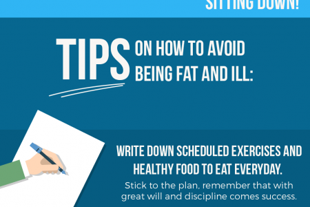 Desk Jobs Shouldn't Make You Fat or Ill Infographic