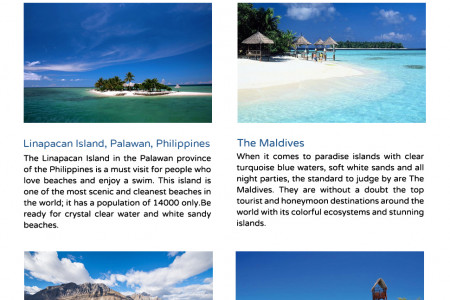 Destinations for Swimming Lovers? Infographic