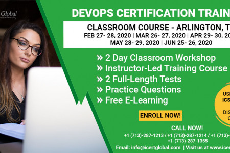 DevOps Certification Training Classroom Course in Arlington, TX Infographic
