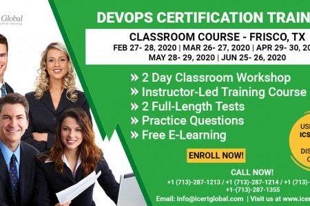 DevOps Certification Training Classroom Course in Frisco, TX Infographic