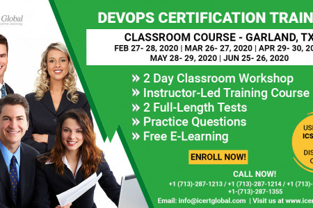 DevOps Certification Training Classroom Course in Garland, TX Infographic