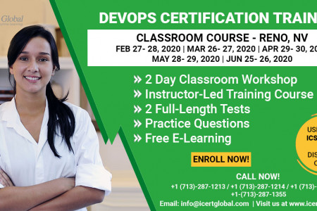 DevOps Certification Training Classroom Course in Reno, NV Infographic