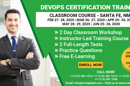 DevOps Certification Training Classroom Course in Santa Fe, NM Infographic