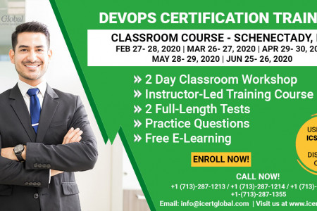 DevOps Certification Training Classroom Course in Schenectady, NY Infographic