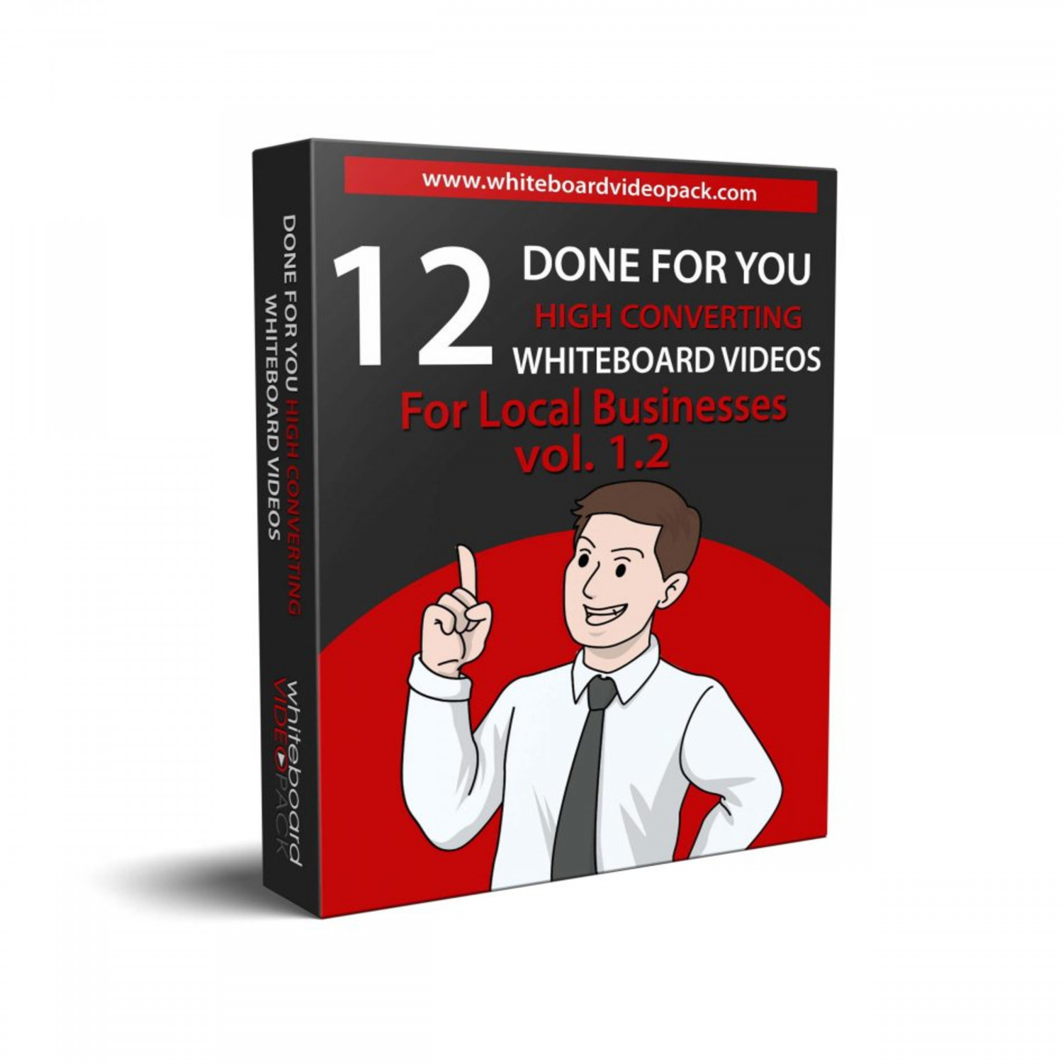 DFY Whiteboard Video Pack Vol. 1.2 review & huge +100 bonus items Infographic