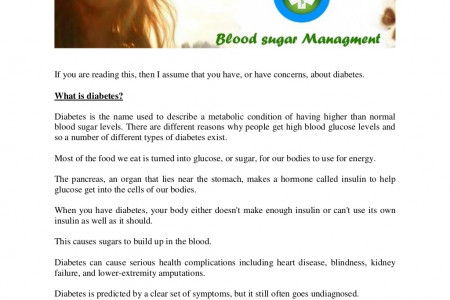 Diabetes Type 2 - Safely Lower Your Blood Sugar by using Moringa Infographic