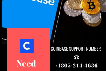 Dial Coinbase Helpline Number @+1805-214-4636 | Call Now |Coinbase Pro Help Infographic
