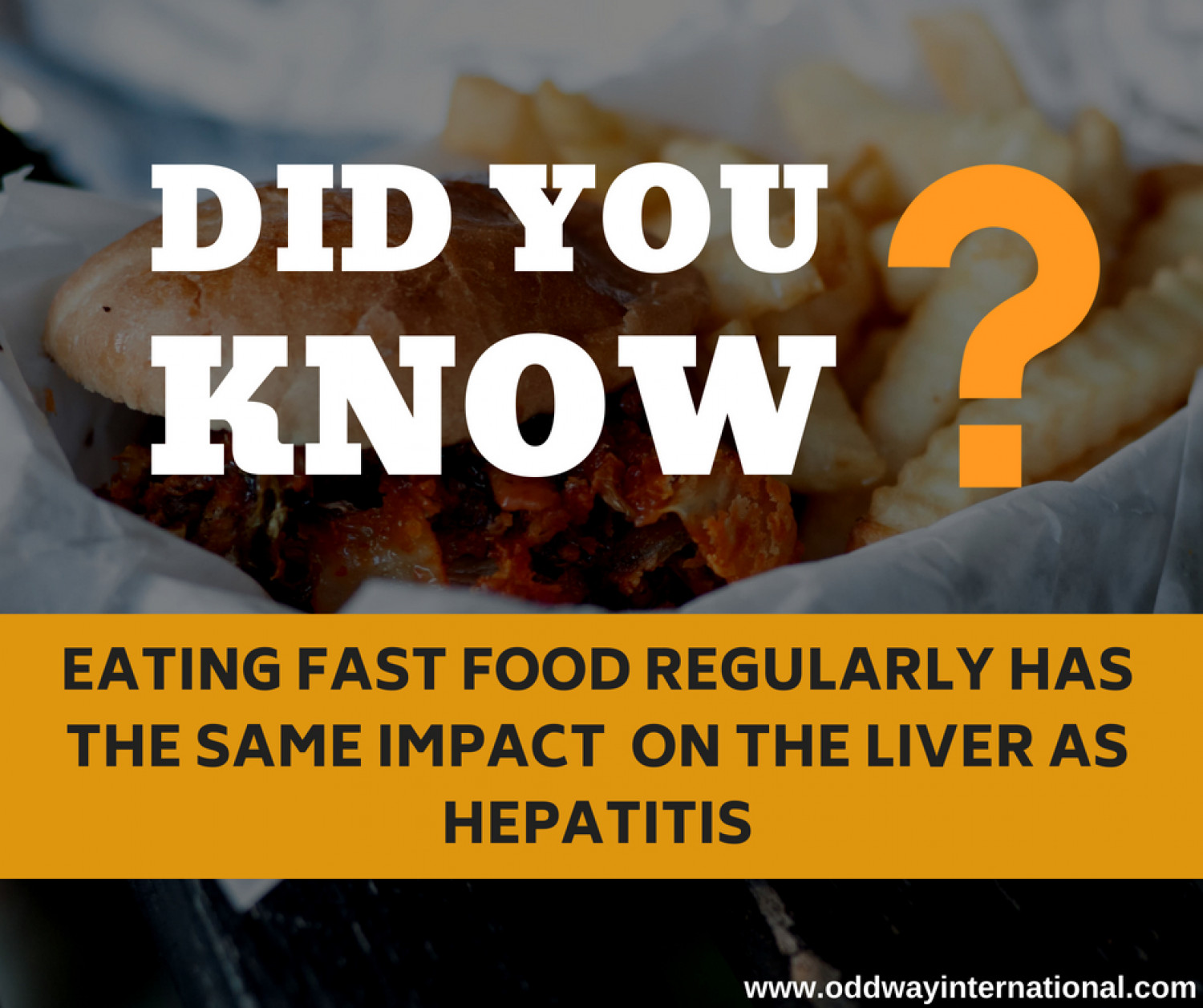 Did you know - Health Facts Infographic