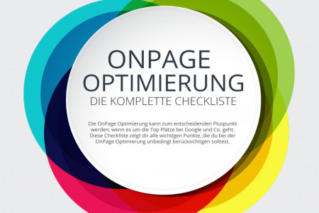 Die ultimative Checkliste zur OnPage Optimierung Infographic