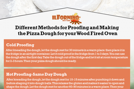 Different Methods of Proofing & Making Pizza Dough for Wood Fired Oven  Infographic